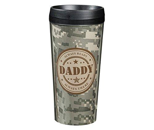 (Lillian Rose Keepsake Camouflage Travel Mug, Military Daddy, 16 Ounce)