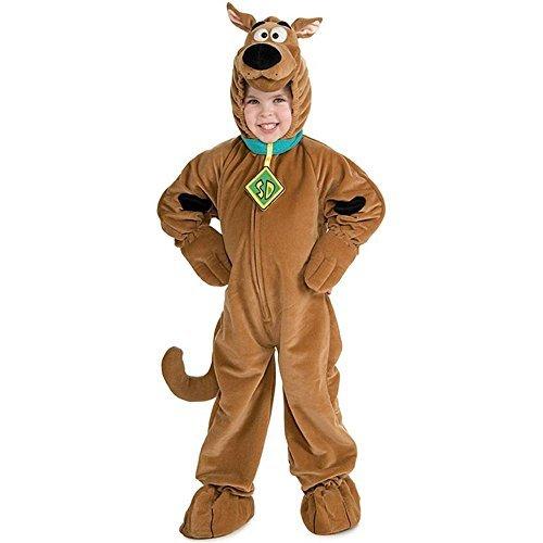 Scooby Doo Deluxe Plush - Deluxe Scooby-Doo Child Costume - Toddler