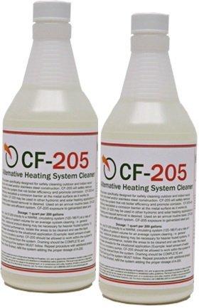 CF205- (Alternative Heating System Cleaner (Flush For Outdoor Wood Boiler System)- 2 Quarts)