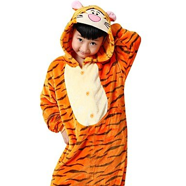 Pijamas Anime mallas/pijama entero Fiesta/Vacaciones pijama a Fantasia animales Halloween naranja impresión