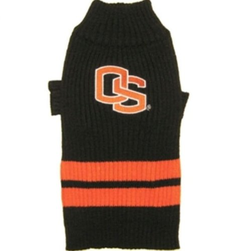 Pets First Sports Fan NCAA Oregon State Dog Sweater Large