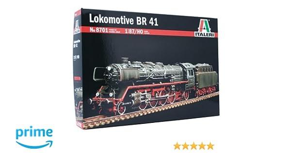 Italeri 8701S - Locomotora BR 41 (escala 1/87) [importado de Alemania]: Amazon.es: Juguetes y juegos