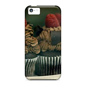HopeTree QoMSJ573fkcZK Case For Iphone 5c With Nice Chocolate Muffins Appearance