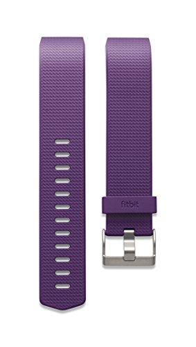 Fitbit Charge 2 Accessory Band, Plum, Small