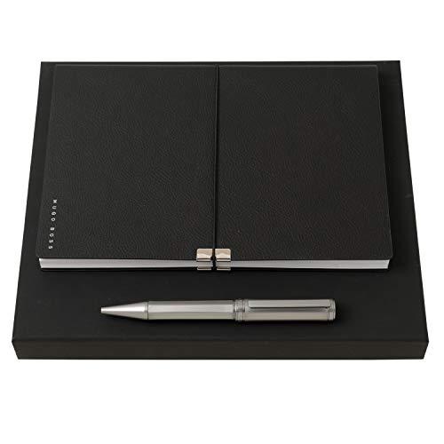 - Set HUGO BOSS (ballpoint pen & note pad A5)