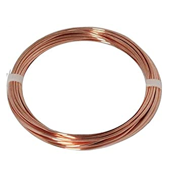 65 Ft - 2 Lb 10 AWG Solid Copper Round Wire Coil