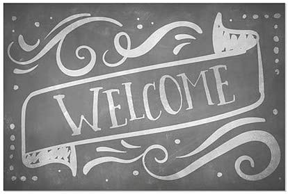18x12 Welcome 5-Pack CGSignLab Chalk Banner Window Cling
