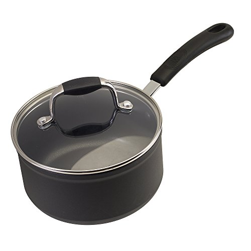 Ecolution Symphony Saucepan with Glass Lid, 3 quart, Slate