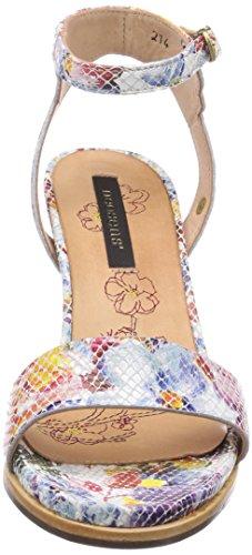 Neosens MANTO NEGRO - Sandalias de vestir de cuero para mujer multicolor - Mehrfarbig (FANTASY FLORAL)