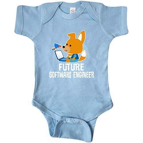 inktastic - Future Software Engineer Infant Creeper 6 Months Baby Blue - Software Future