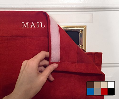 SNAIL SAKK: Mail Catcher For Mail Slots - RED No more mai...