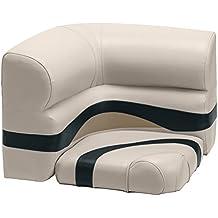 Wise Premier Series Pontoon 26-Inch Radius Corner Seat, Cushions Only