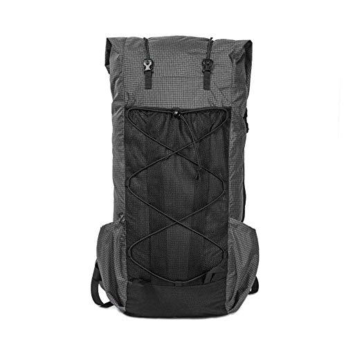 OneTigris Black Orca LITE Roamer UL Backpack, 55L 5L, 2.5Ibs, Water Resistant