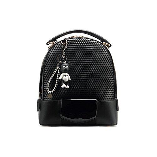 à à or PU sac Noir noir imprimé polyuréthane dos en Sacs pour dos 6Ufq040w