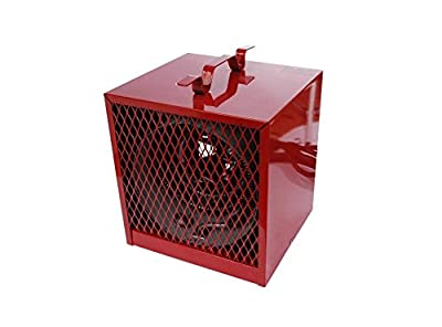 Electric Heater - Commercial - Portable - 240 Volt - 4,000 Watt - 13,640 Btu