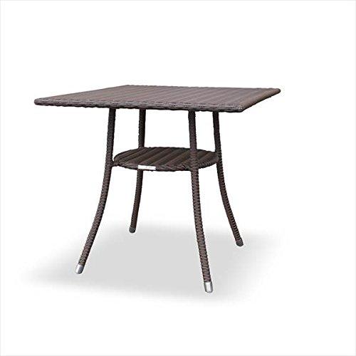 かじ新 RAUCORD AMALFI ダイニングテーブル 700×700 『ガーデンテーブル ガーデンファニチャー』 ダークブラウン B01LQ0GFKQ