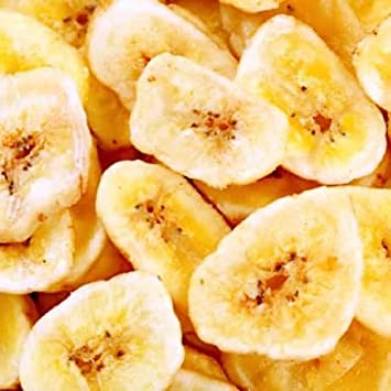 Banana - Bulk Sweetened Banana Chips 10 Pound Value Box