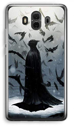 Inspired by Batman cell phone case Huawei mate 10 20 pro lite x Huawei p20 p10 plus p Honor 10 9 8x view plastic phone cover for mobile transparent frame gift art DC comics poster