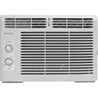 Frigidaire 5,000 BTU 150 Sq Ft, Mechanical Rotary Controls Window Air Conditioner, 115V Electrical Outlet, 6.5 3-Prong Power Cord FFRA0511R1, White Color