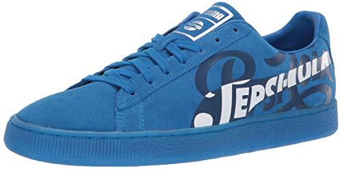 - PUMA Suede Classic Sneaker, Clean Blue Silver, 9 M US