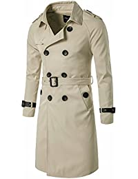 Amazon Com Beige Trench Amp Rain Jackets Amp Coats