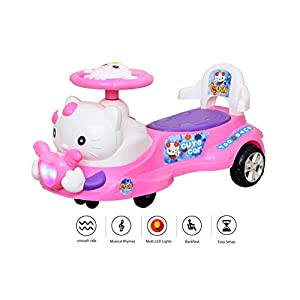 Luusa Cute Kitty Twist Magic Car Ride On