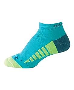 Under Armour Women's Full Cushion Run Socks (1 Pair), Aqueduct/Legion Blue, Medium