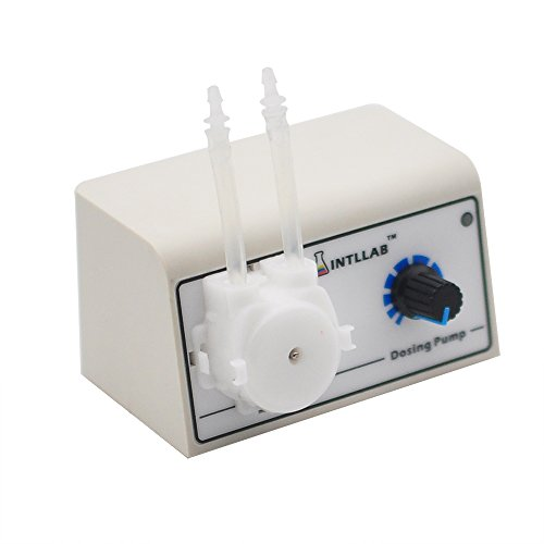 INTLLAB DIY Peristaltic Liquid Pump Dosing Pump for Aquarium Lab Analytical