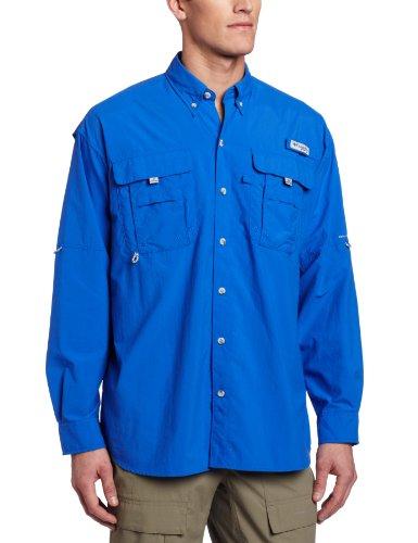 Columbia Men's Bahama II Long Sleeve Shirt (X-Large, Vivid - Shades For Mens Online