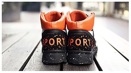 Running Sport Orange Mens Sneakers Hanxue Shoes Fashion vqnzSxBHx