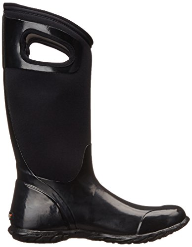 Black Womens Bogs Hampton North Solid Wellies xwqSXYqr