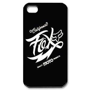 Black & White Fox Racing iPhone 5c Case