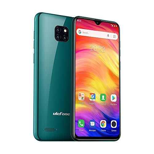 Ulefone Note 7(2020) Unlocked 3G Cell Phones, Dual Sim Unlocked Smartphone Android 9.0 Face Unlock 6.1'' 1GB+16GB 8MP Triple Camera 3500 Mah Battery GSM Unlocked Phones, US Version,No Sprint&Verizon