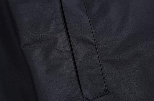 Cappuccio Uomo Semplice Con E Lunghi Giacche Piumini Stile Ntel Da Schwarz Adulti Impermeabili Donna qZ8wXpxfE