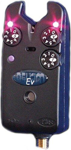 Delkim - Alarma de mordida de carpa EV Plus en rojo, azul ...