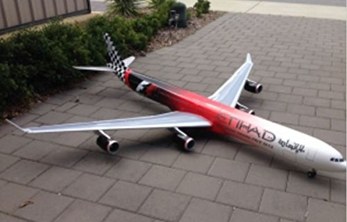 RC A340-600 Airbus Electric EDF Jet Airplane over 7' Wing