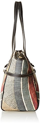 Gattinoni Gacpu0006163, Borsa a Spalla Donna, 17x26x37 cm (W x H x L) Multicolore (Classico)