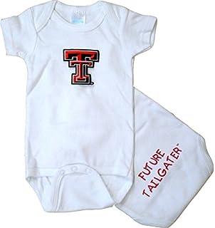 47ab537cc Amazon.com : Future Tailgater Texas Tech Red Raiders LOGO Infant ...