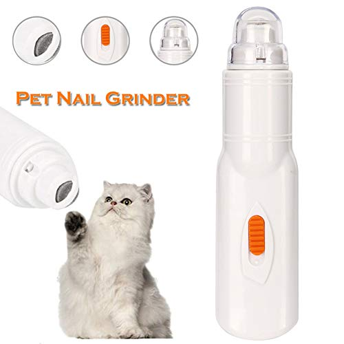 - Reliaband Pet Nail Grinder, Electric Nail Grinder Dog Cat Nail Clippers Trimmers File Nail Grooming Tool, Quiet and Painless for Dogs Cats Hamsters Rabbits Birds