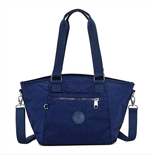 Impermeabili Nylon Lady Borse Per Donne Borsa Stile Solid Designer Bag Tracolla Oxford Tote A Messenger Blue Deep Black Casual E FaExq5wvq