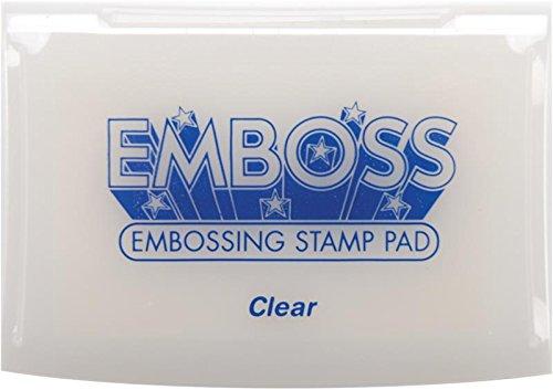Clear Embossing Ink (Tsukineko Full-Size Emboss Inkpad,)