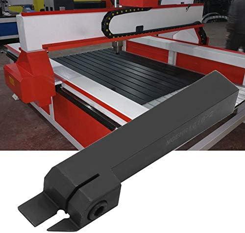 Drehwerkzeughalter, MGEHR1616-2 100-mm-CNC-Drehwerkzeughalter mit 10 STÜCK MGMN200-G-Einsätzen und Schraubenschlüssel, Drehzubehör