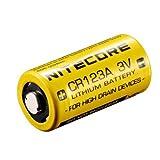Nitecore CR123A 1550mAh 3V Lithium Battery for Flashlight