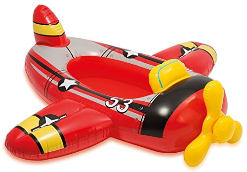 JEWELS FASHION Pool Cruisers - Float Outdoor Playtime Pool - Smooth Seams, Sturdy Construction & Bright Colors Make This Pool Float A Fun Way to Ride Summer Waves (Plane Pool Cruiser)