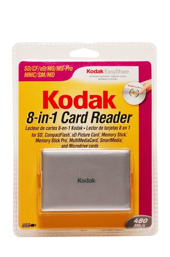 Kodak 8 - in - 1 Multi-Card Reader, KRW8IN1SCS