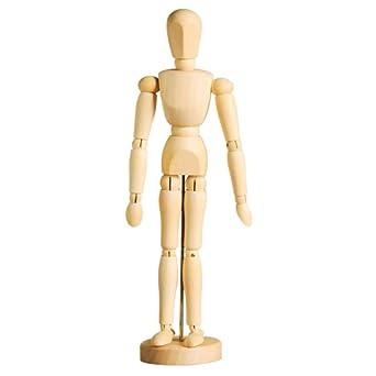 Amazon All Brght 木製 デッサン人形 モデル人形 デッサン モデル