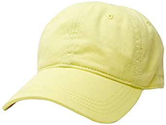 Lacoste Men's Basic Side Croc Cotton Cap, Sulphur Pit,10 (Standard)