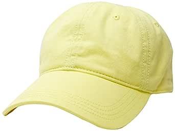 Lacoste Men's Basic Side Croc Cotton Cap, Sulphur Pit,10 (Standard)