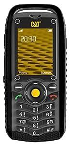 Caterpillar B25 Black GSM QuadBand Cell Phone