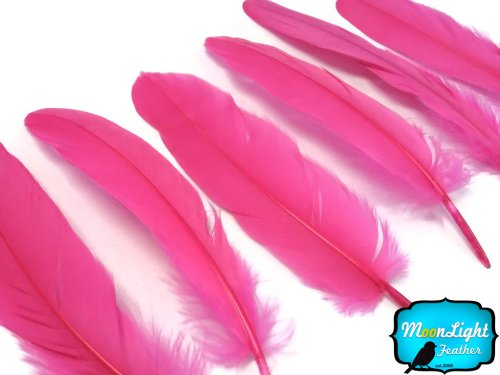 moonlight-feather-goose-feathers-hot-pink-goose-satinettes-loose-feathers-30-40-feathers-per-pack